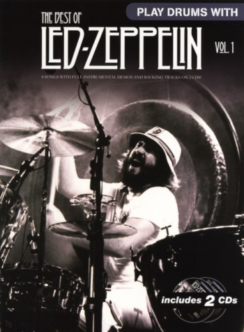 Play Drums With Led-Zeppelin: Drums Vol 1:  Bk&cd