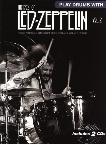 Play Drums With Led-Zeppelin: Drums Vol 2:  Bk&cd