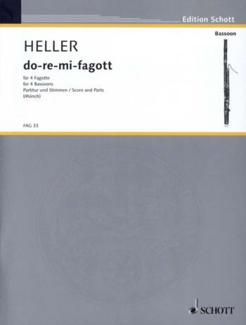 Do-re-mi-fagott: Bassoon Quartet: Score And Parts