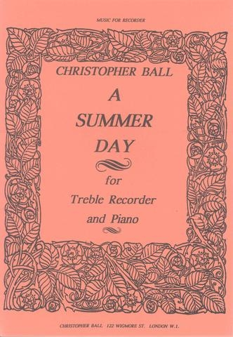 Music: Summer Day Treble Recorder