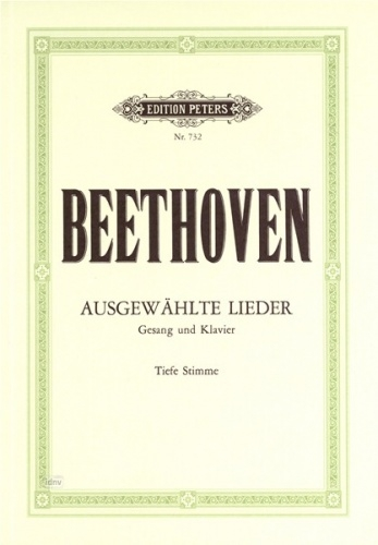 30 Selected Songs: Low Voice And Piano (Peters)