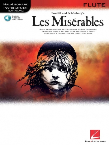 Les Miserables: Playalong: Flute: Book & CD