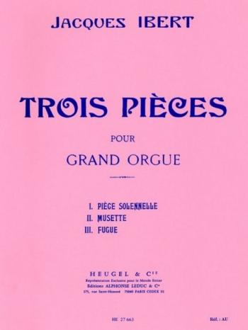 Tois Pieces: Organ