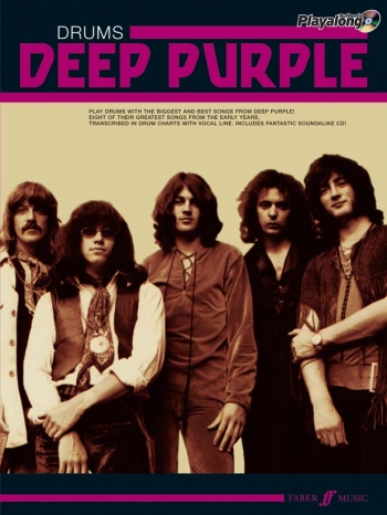 Deep Purple: Authentic Playalong: Drums: Book & CD
