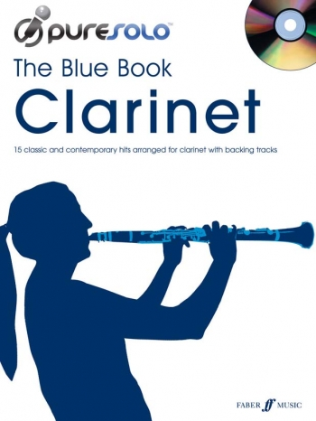 Pure Solo: The Blue Book: Clarinet: Bk&cd