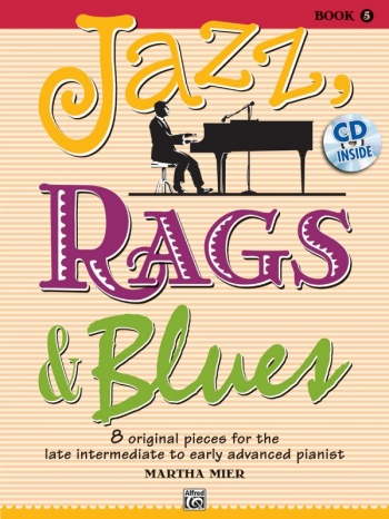 Jazz Rags & Blues Book 5 Piano Book & Cd (mier)