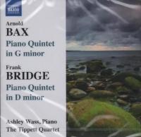 Piano Quintet In D Minor CD: The Tippett Quartet: Naxos CD Recording