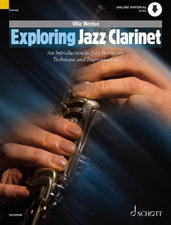 Exploring Jazz Clarinet: Introduction To Jazz Harmony Technique & Improvisation: Bk&cd