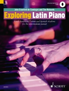Exploring Latin Piano - 1 - Harmony Technique & Improvisation - Bk&cd