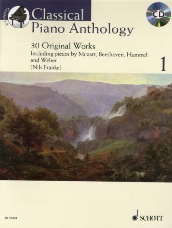 Classical Piano Anthology: Vol 1: 30 Original Works: Piano: Bk&cd