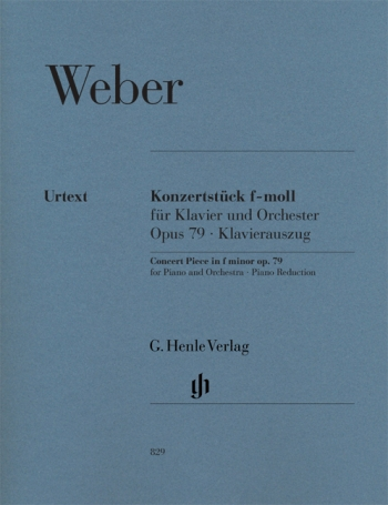 Concert Piece, Op. 79: Piano & Orchestra : Piano Reduction (Henle Ed)
