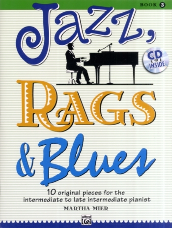 Jazz Rags & Blues Book 3 Piano Book & Cd (mier)