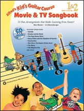 Alfred Kids Guitar Course: Movie And Tv Songbook: Book & CD