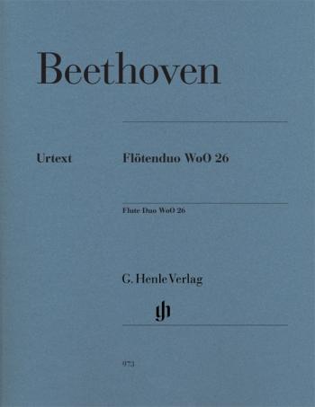 Flutenduo: Flute Duo: Woo26: Flute Duet