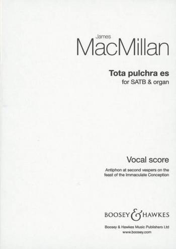 Tota Pulchra Es: Satb And Organ: Vocal