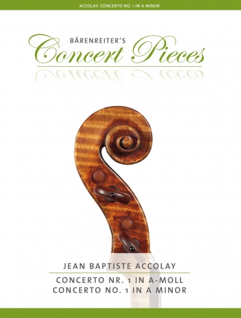 Violin Concerto A Minor No.1: Violin & Piano (Barenreiter Easy Concerto Series)