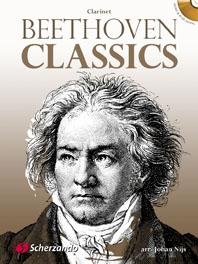 Beethoven Classics: Clarinet & Piano: Bk&cd (De Haske)