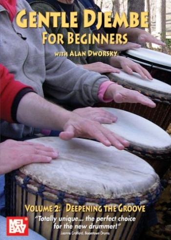 Gentle Djembe For Beginners: Vol2: Deepening The Groove: Drum: DVD