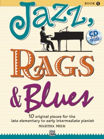 Jazz Rags & Blues Book 1 Piano Book & Cd (mier)