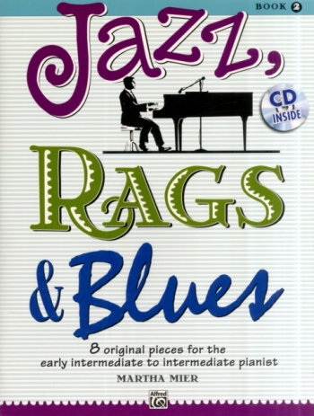 Jazz Rags & Blues Book 2 Piano Book & Cd (mier)