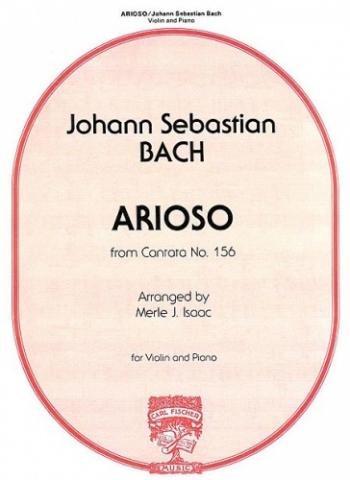 Arioso Kantate Nr.156: Violin & Piano (Carl Fischer)