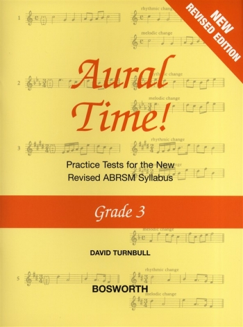 Aural Time: Grade 3: Practice Tests: New Edition Revised ABRSM 2011