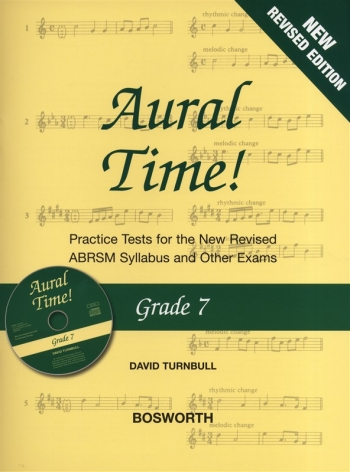 Aural Time: Grade 7: Practice Tests: Book & CD: New Edition Revised ABRSM 2011