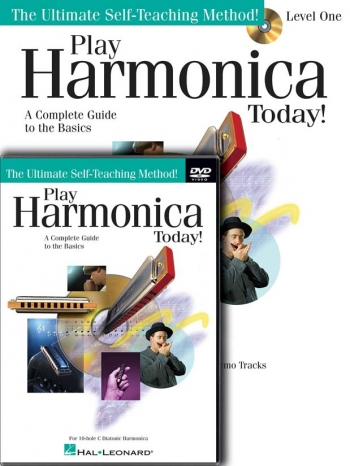 Play Harmonica Today! Beginners Pack: Book & DVD