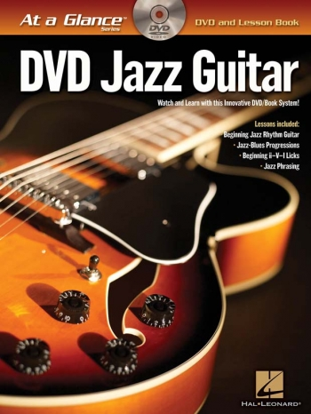 At A Glance Guitar: Jazz Guitar: DVD And Lesson Book