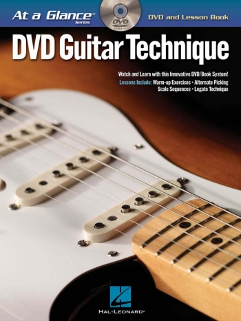 At A Glance Guitar: Guitar Technique: DVD And Lesson Book