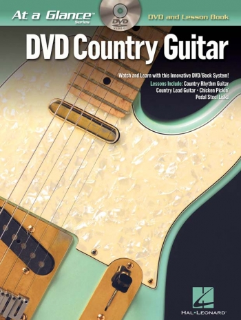 At A Glance Guitar: Country Guitar: DVD And Lesson Book