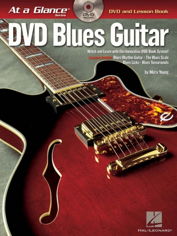At A Glance Guitar: Blues Guitar: DVD And Lesson Book