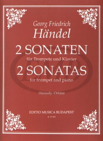 2 Sonatas: Trumpet And Piano (EMB) (Trans. Varasdy-Orban)
