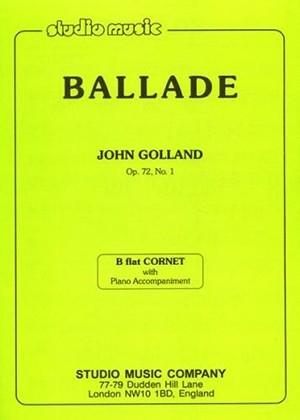 Ballade Op 72/1:Cornet And Piano
