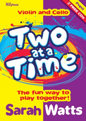 Two At A Time Violin And Cello: Pupils Book And CD