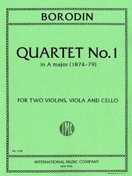 Borodin: String Quartet: 1: A Major: Parts