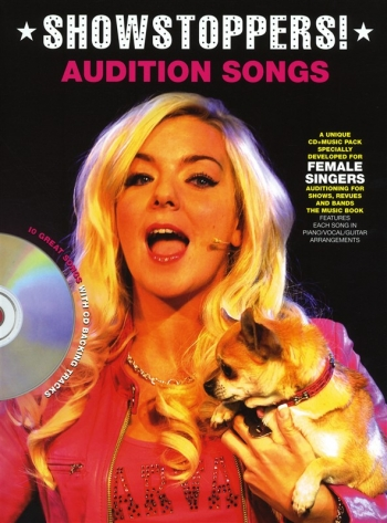 Audition Songs: Showstoppers: Female Singers: Book & Cd