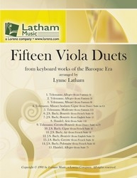 Fifteen Viola Duets: From Baroque Keyboard Works