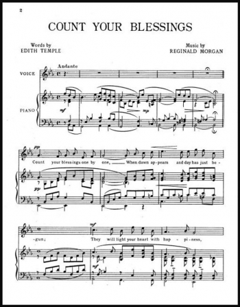 Count Your Blessings: Vocal SATB