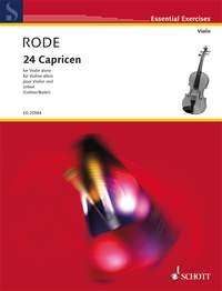 24 Caprices: Violin Solo (Schott)