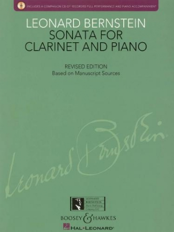 Sonata For Clarinet And Piano: Revised Edition Book & CD (Boosey & Hawkes)