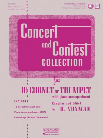 Concert And Contest Collection: Trumpet: Bk & Cd