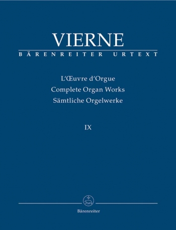 Complete Organ Works: Vol 9 (Barenreiter)