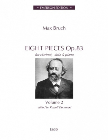 Eight Pieces: Op 83: Vol 2: Clarinet Viola And Piano