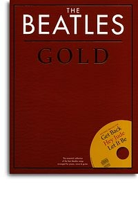 Beatles Gold: Essential Collection: Piano Vocal Guitar Book & CD