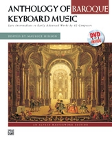Anthology Of Baroque Piano Music: Intermediate