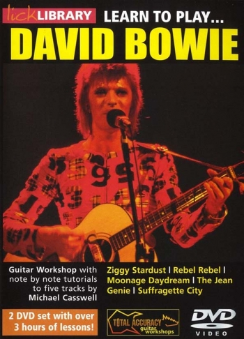 Lick Library: Learn To Play: David Bowie: DVD