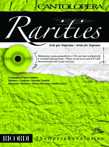 Cantolopera: Arias For Soprano: Rarities: Voice And Piano