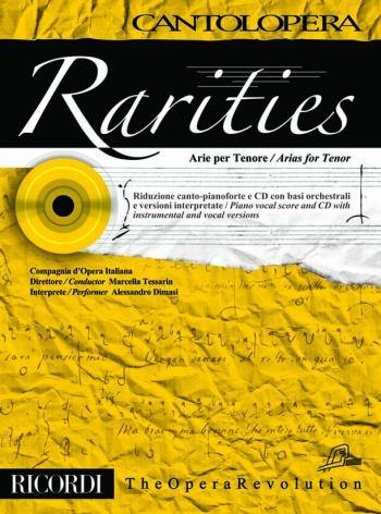 Cantolopera: Arias For Tenor: Rarities: Voice And Piano