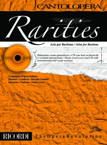 Cantolopera: Arias For Baritone: Rarities: Voice And Piano